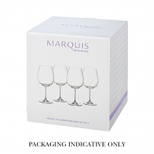 Marquis by Waterford Vintage Deep Red Wine Set of 4
