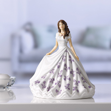 Royal Doulton Birthstone Petites February - Amethyst HN 5898