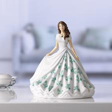 Royal Doulton Birthstone Petites May - Emerald HN 5901
