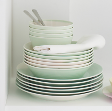 Royal Doulton 1815 Green 16 Piece Set