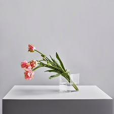 Iittala Ruutu Vase 18cm Clear