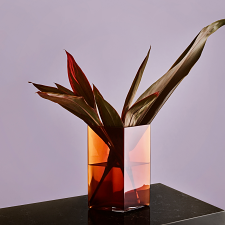 Iittala Ruutu Vase 20.5x27cm Copper