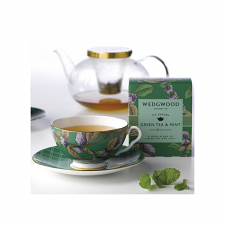 Wedgwood Tea Garden Cup & Saucer Mint