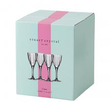 Stuart Crystal Caren Wine 240ml Set of 4