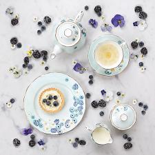 Alpha Foodie Sugar & Creamer Set Turquoise