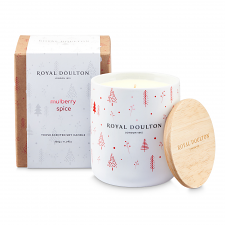 Royal Doulton Aromatherapy Candle Mulberry Spice