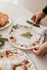 Old Country Roses Christmas Tree Bread & Butter Plate 16cm