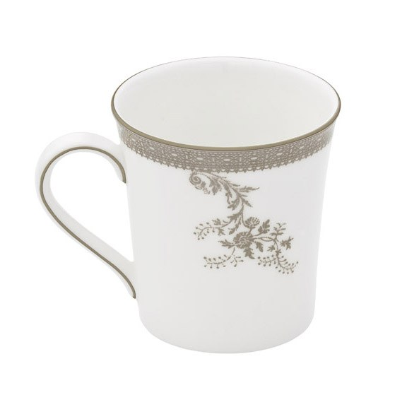 Vera Wang Wedgwood Vera Lace Platinum Mug