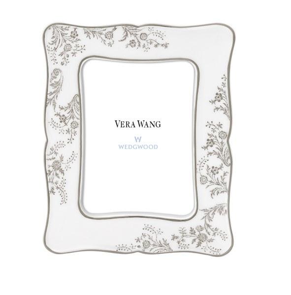 Vera Wang Wedgwood Vera Lace Platinum Frame 16cm X 13cm Royal