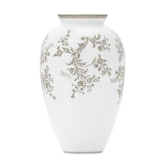 Vera Wang Wedgwood Vera Lace Spray Vase 165cm Royal Doulton Outlet
