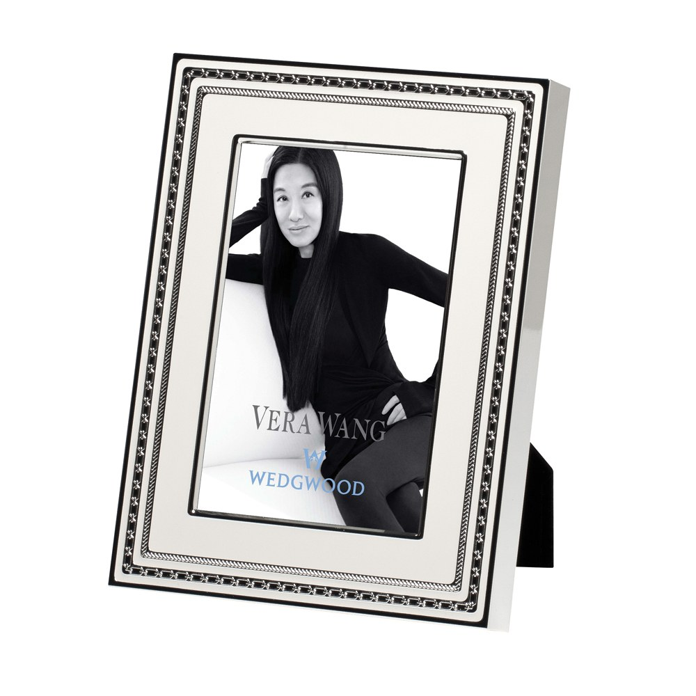 Vera Wang Wedgwood With Love Blanc Silver Giftware Frame 4x6 ...
