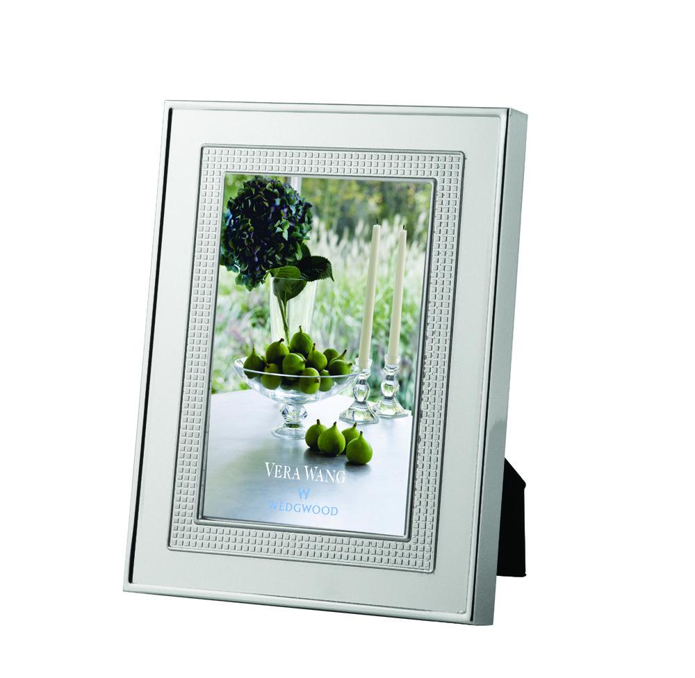 "Vera Wang Wedgwood Blanc Sur Blanc Frame 4""x6"""
