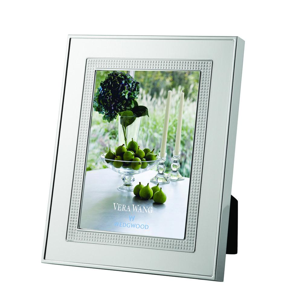 "Vera Wang Wedgwood Blanc Sur Blanc Frame 5""x7"""