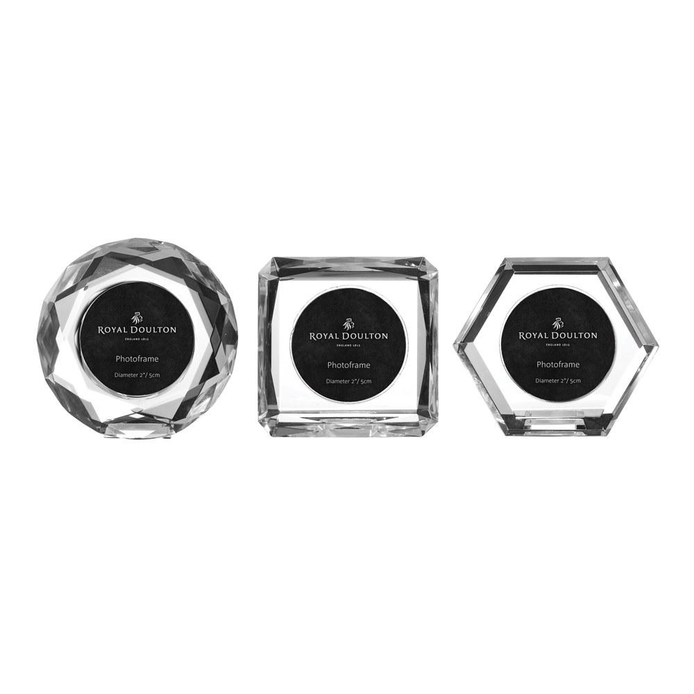 royal doulton radiance giftware set of 3 mini frames - Mini Frames