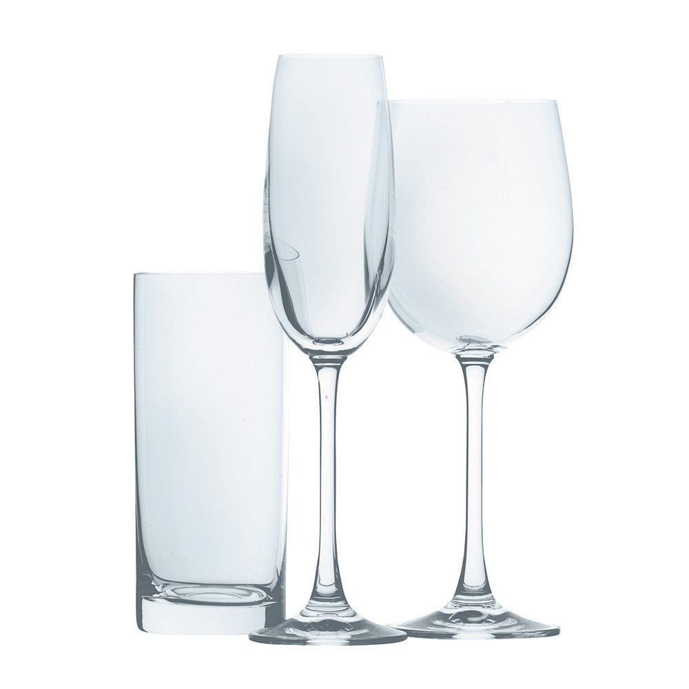 Royal Doulton 18 Piece Wine Flute And Highball Glass Set