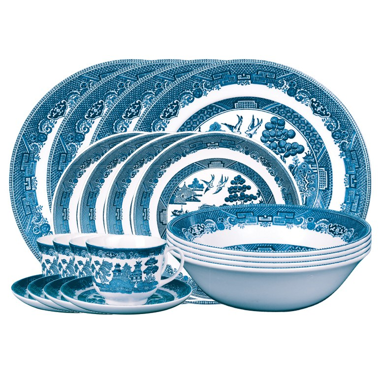 Johnson Brothers Blue Willow Classic 20 Piece Set