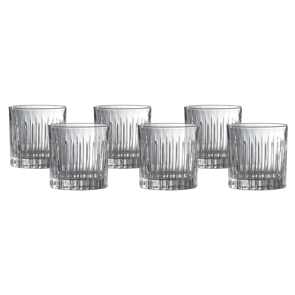 Royal Doulton Linear Crystaline Tumbler Set of 6