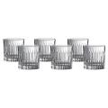 Royal Doulton Linear Crystaline Tumbler Set of 6