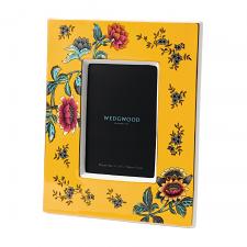 Wedgwood Wonderlust Yellow Frame 4x6 inch