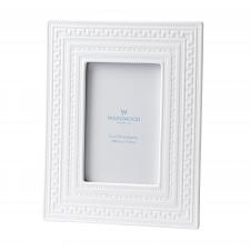 "Wedgwood Intaglio White Frame 4x6"""