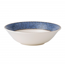 Wedgwood Sarah's Garden Cereal Bowl Blue