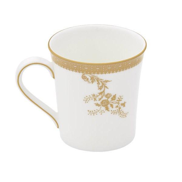 Vera Wang Wedgwood Vera Lace Gold Mug