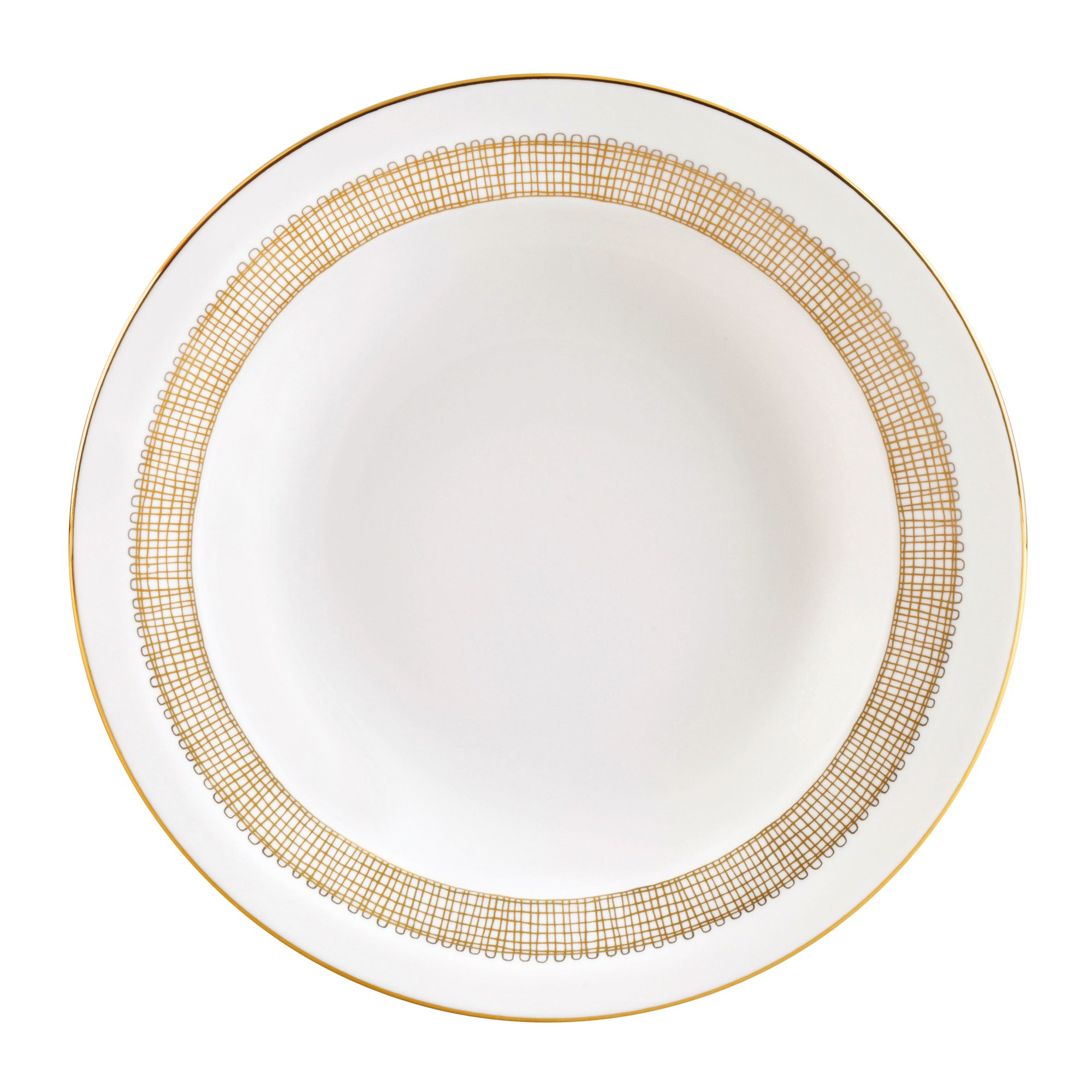 Vera Wang Gilded Weave Soup Plate 23cm