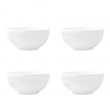 Vera Wang Vera Perfect White Bowl 15cm Set of 4