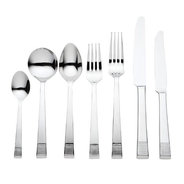 Vera Wang Wedgwood Blanc Sur Blanc 56 Piece Cutlery Set
