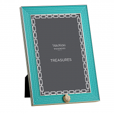 Wedgwood Vera Wang With Love Frame Aqua 4'x6'