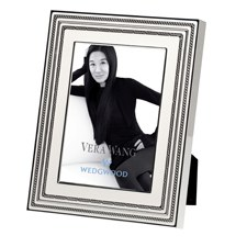 "Vera Wang Wedgwood With Love Blanc Silver Giftware Frame 5""x7"" (12.5x18cm)"