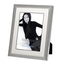 "Vera Wang Wedgwood With Love Blanc Silver Giftware Frame 8""x10"" (20x25cm)"