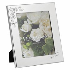"Vera Wang Wedgwood Lace Bouquet Frame 8""x10"""