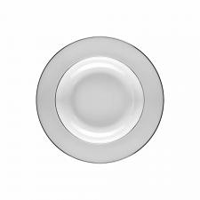 Wedgwood Signet Platinum Soup Plate 20cm