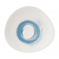 Wedgwood Blue Pebble Shallow Bowl 34cm