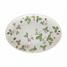 Wedgwood Wild Strawberry Oval Coupe Plate 30cm