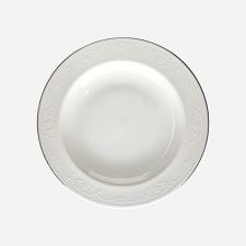 Wedgwood English Lace Rim Soup Plate  23cm