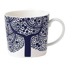 Royal Doulton Fable Accent Mug Blue Tree
