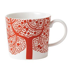 Royal Doulton Fable Accent Mug Red Tree