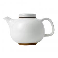 Royal Doulton Barber & Osgerby Olio White Teapot 15.5cm