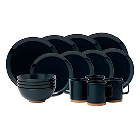 Barber & Osgerby Olio Blue 16 Piece Set