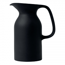 Royal Doulton Barber & Osgerby Black Jug 21.5cm