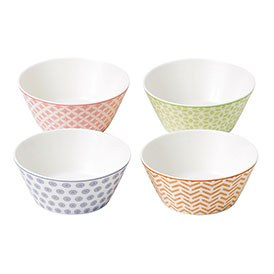 Royal Doulton Pastels Set of 4 11.5cm Bowls