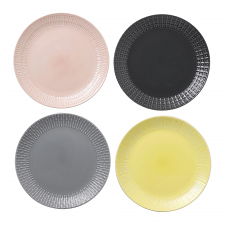 HemingwayDesign Set of 4 Mixed Plate 22cm