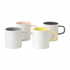HemingwayDesign Set of 4 Mixed Mugs 300ml