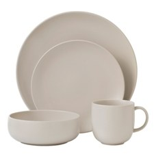 Royal Doulton Mode 16 Piece Set Putty
