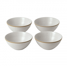Gordon Ramsay Maze Grill White Bowl 16cm Mixed (Set of 4)