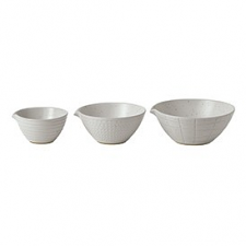 Gordon Ramsay Maze Grill White Dipping Bowls Mixed (Set of 3)