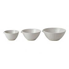 Gordon Ramsay Maze Grill White Dipping Bowls Mixed (Set of 3)