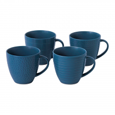 Gordon Ramsay Maze Grill Blue Mug 295ml Mixed (Set of 4)